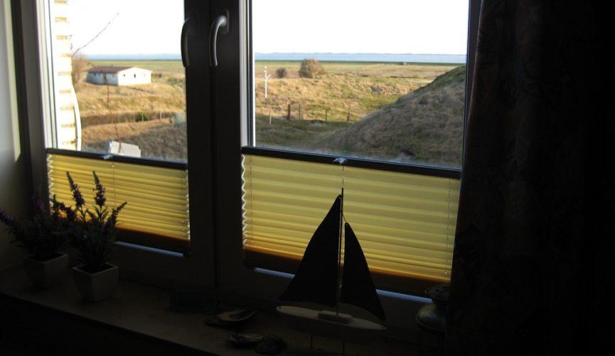 Blick aus dem Fenster FeWo Füürtoorn